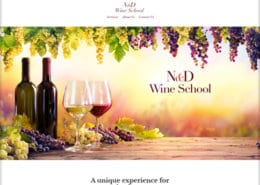 ND Wine School Website