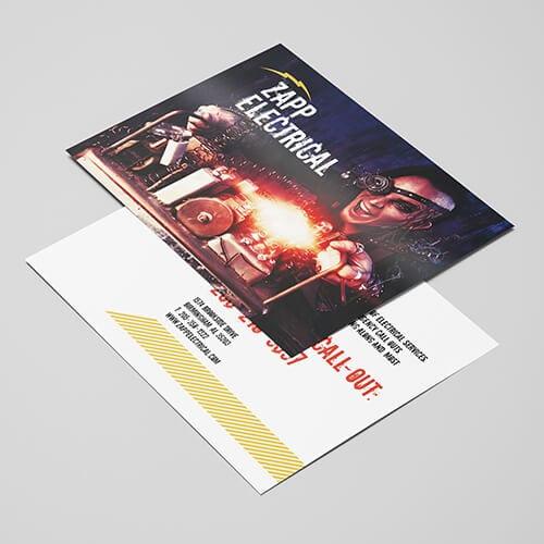 150gsm gloss leaflet
