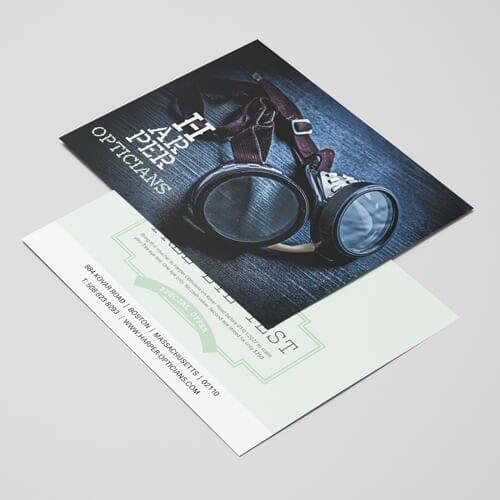 160gsm uncoated leaflet