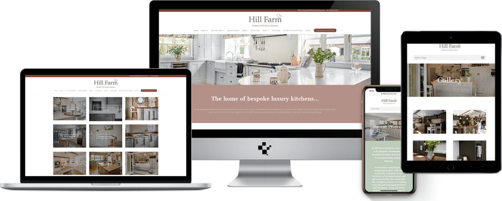 Bespoke furniture website