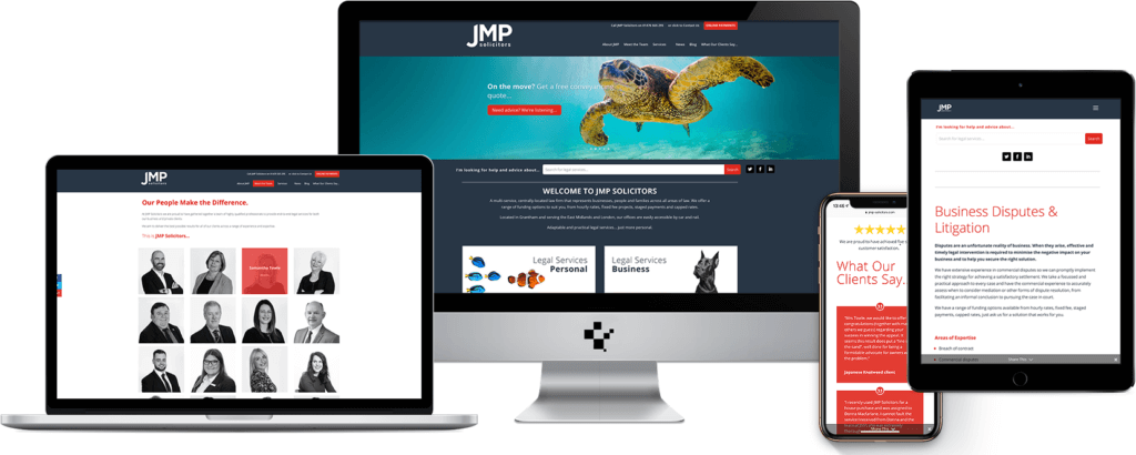 JMP Solicitors website