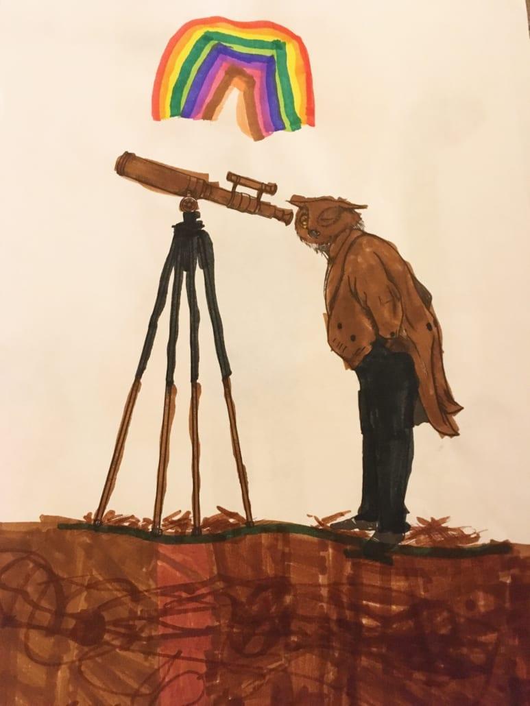 I spy a rainbow