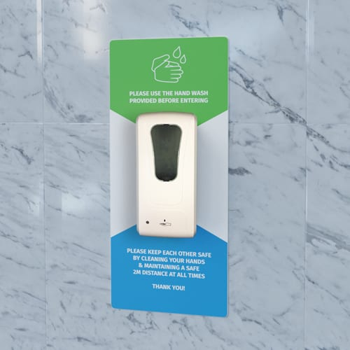 Wall Mounted Hand Sanitiser