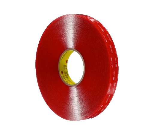 Red sanitiser tape