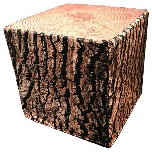 Cube tree stump