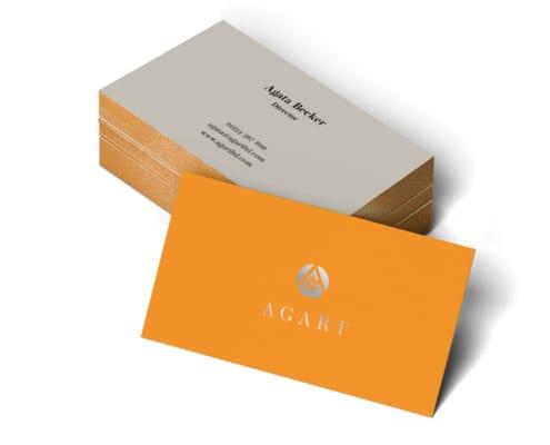 Agart Duplex Business Cards