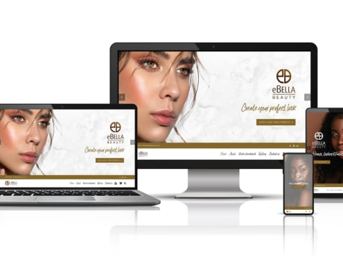 eBella Beauty's website