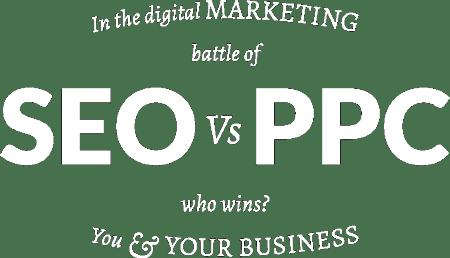 seo vs ppc logo