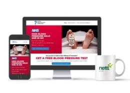 NHS Blood Pressure Testing Wbsite