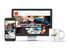 RMP Design & Marketing website