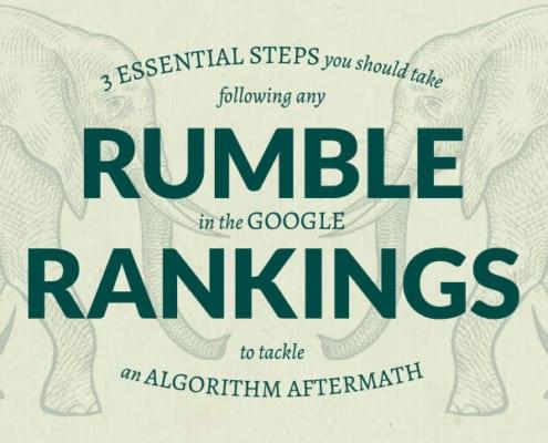 rumble in google rankings algorithm update image