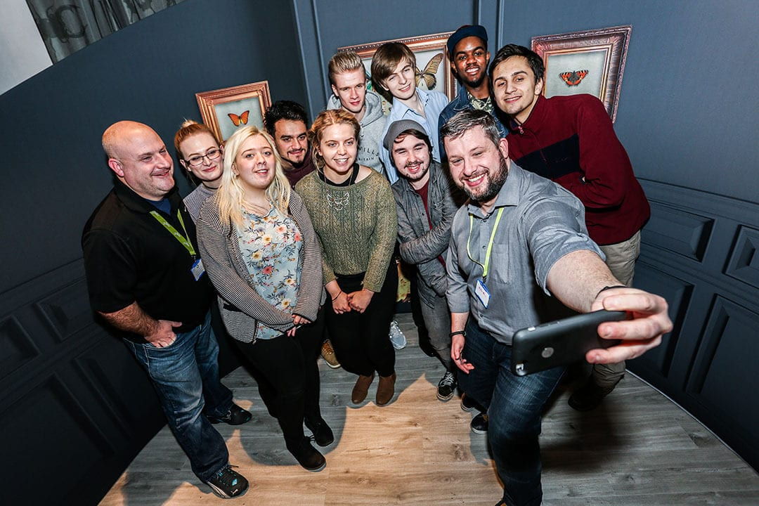nettl cadets academy launch web training group photo