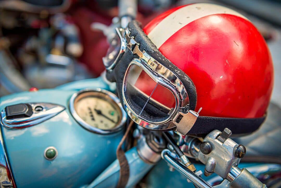 helmet metaphor. Security, trust, protection