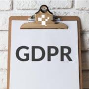 gdpr website checklist